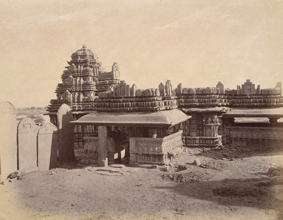 View from the south-east of the Mukteshvara Temple, Chaudanpur